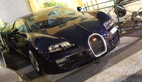 Two Bugatti Veyron Super Sport KAQ Edition's in Saint-Tropez