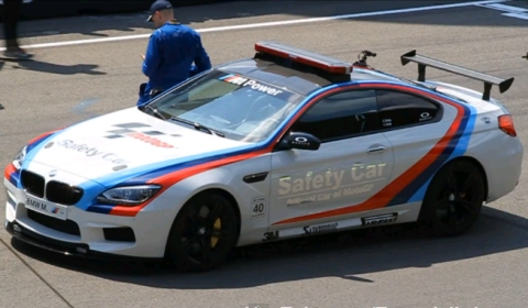 Video 2013 BMW M6 MotoGP Safety Car at Dutch TT