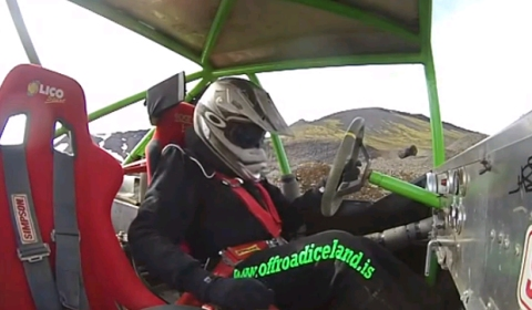 Video Alex Roy Formula Offroading in Iceland