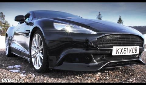 Video Aston Martin AM310 Vanquish Winter Testing
