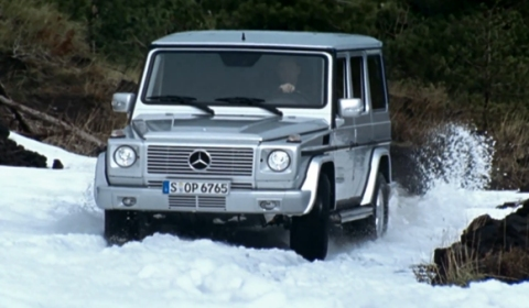 Video History of the Mercedes-Benz G-Class