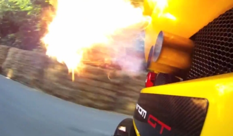 Video Venom GT Shoots Fire at Goodwood Festival of Speed
