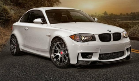 Vorsteiner BMW 1M Coupe GTS-V Outdoor Photoshoot