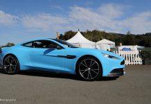 Aston Martin Vanquish at Monterey 2012