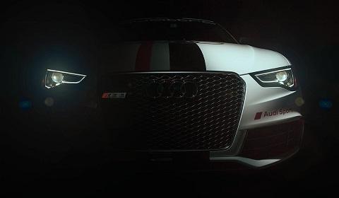 Audi Teases Audi RS5 for Pikes Peak