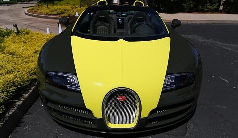 Bugatti Veyron Grand Sport Vitesse at Monterey