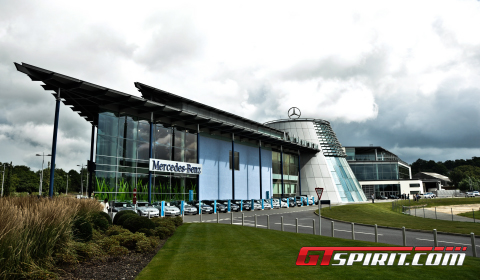 Dealer Visit Mercedes-Benz World Brooklands