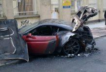 Ferrari California Burns Down in Poland