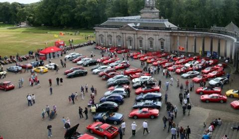 Ferrari at Hopetoun House Italian Car and Bike Show