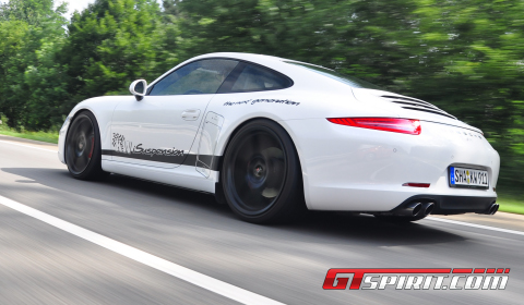 First Drive KW iSuspension on Porsche 991 Carrera S 01