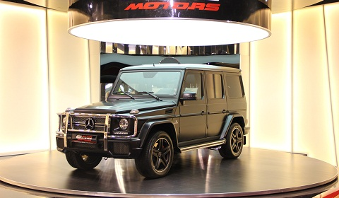 Five Mercedes-Benz G65 AMG For Sale in Dubai