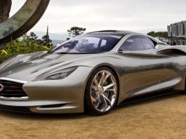 Infiniti Emerg-E Concept Displayed at Pebble Beach 2012