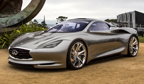 Infiniti Emerg-E Concept Displayed at Pebble Beach 2012
