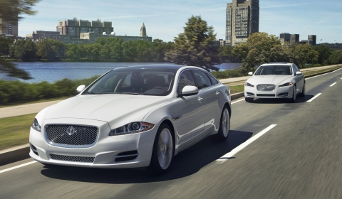 Jaguar Announces All-wheel Drive for XF and XJ Models