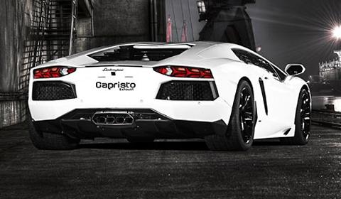 Lamborghini Aventador Exhaust System by Capristo