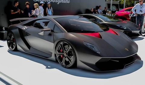 Lamborghini Elemento on Lamborghini Presented The Sesto Elemento At The Quail Gathering