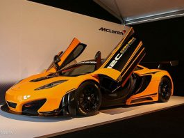 McLaren 12C Can-Am Edition Racing Concept at Monterey 2012