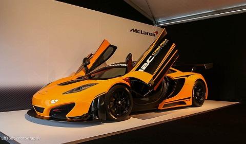 McLaren 12C Can-Am Edition Racing Concept at Monterey 2012