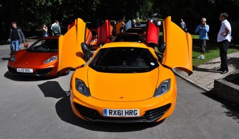 McLaren Automotive at Wilton Classic and Supercars 2012 01
