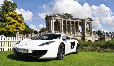 McLaren Automotive at Wilton Classic and Supercars 2012