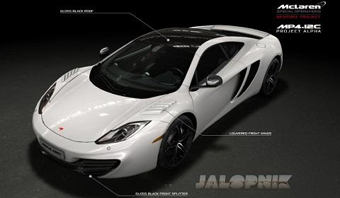 McLaren Project Alpha