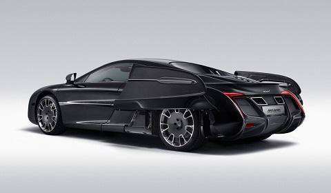 McLaren X-1 Concept Rear