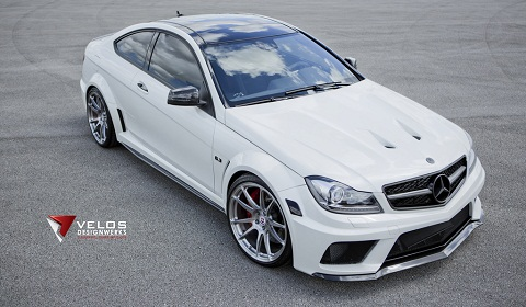 Mercedes-Benz C63 AMG Black Series on HRE Wheels