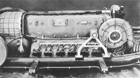 Daimler-Benz DB 603 V12 Engine