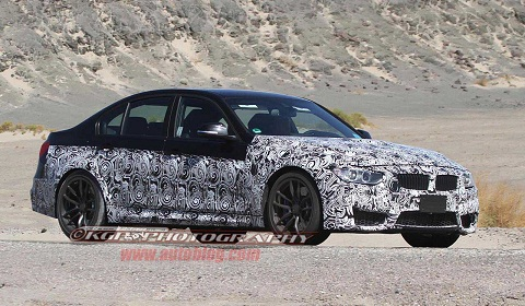 New BMW M3 Shows It's Face