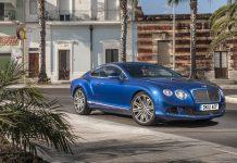 New Bentley Continental GT Speed Pictures