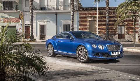 New Bentley Continental GT Speed Pictures