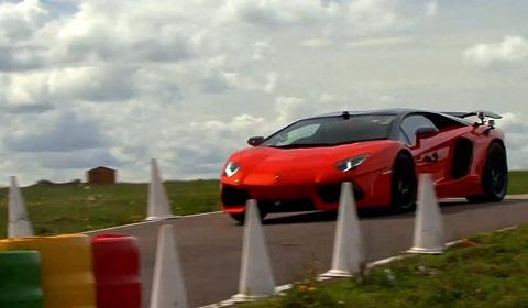 Oakley Design Lamborghini Aventador LP760-2 on Track