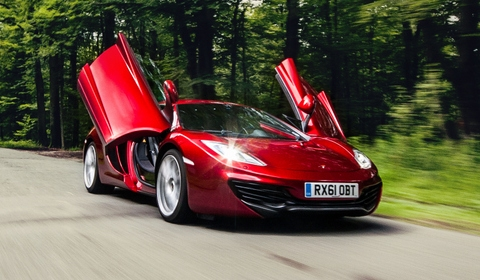 Photo Of The Day 2012 McLaren MP4-12C by Dennis Noten Photography