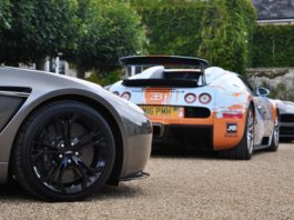 Photo Of The Day BugARTi Veyron, Aston Martin V12 Zagato & Aston Martin AM310 Vanquish at Wilton House 2012