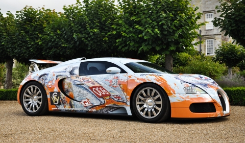 Photo Shoot BugARTi Veyron at Wilton Classic and Supercars 2012