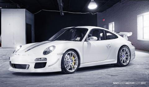 Porsche 997 GT3 on HRE P44SC Wheels by Autodynamica
