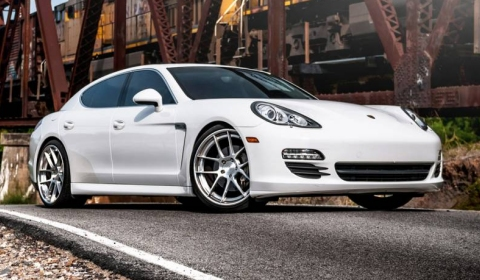 Porsche Panamera S on ADV.1 Wheels