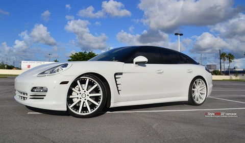 Porsche Panamera by Velano Forged