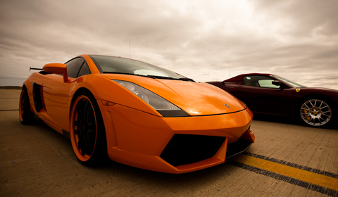 1470hp Lamborghini Gallardo ready to blast down the runway