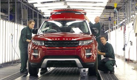 Range Rover Evoque Production