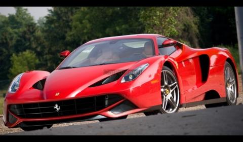 Render 2013 Ferrari F70 Aka Enzo Successor