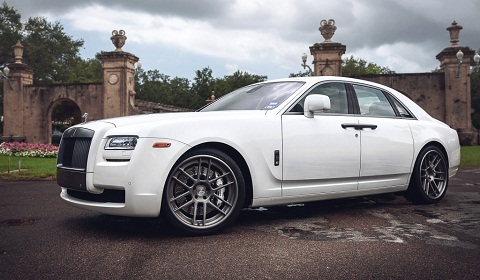 Rolls-Royce Ghost on ADV.1 Wheels