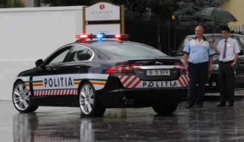 Romanian Police Gets Jaguar XFR 01