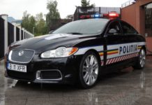Romanian Police Gets Jaguar XFR