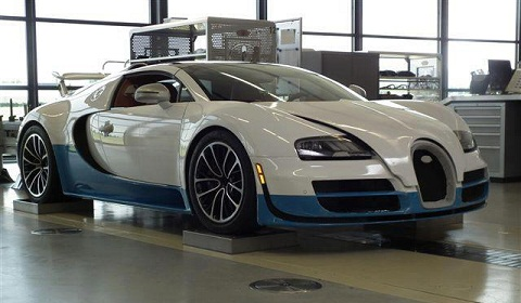 Special Edition Bugatti Veyron Grand Sport Vitesse at The Quail