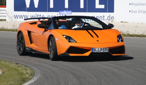 Sports Car Charity Event at Spreewaldring