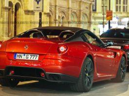 Spotted Novitec Rosso Ferrari SA Aperta in Vienna