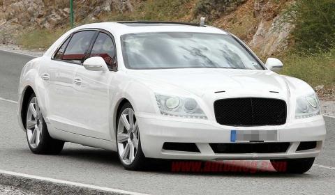 Spyshots New Bentley Continental Flying Spur