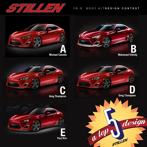 Stillen FR-S Body Kit Design Contest
