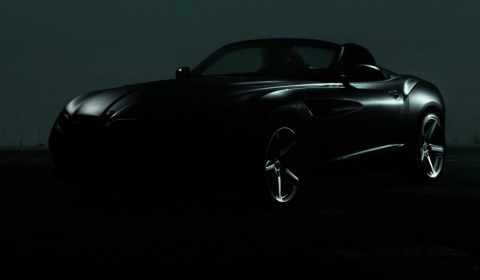 Teaser Second BMW Zagato Concept Heading to Pebble Beach 2012